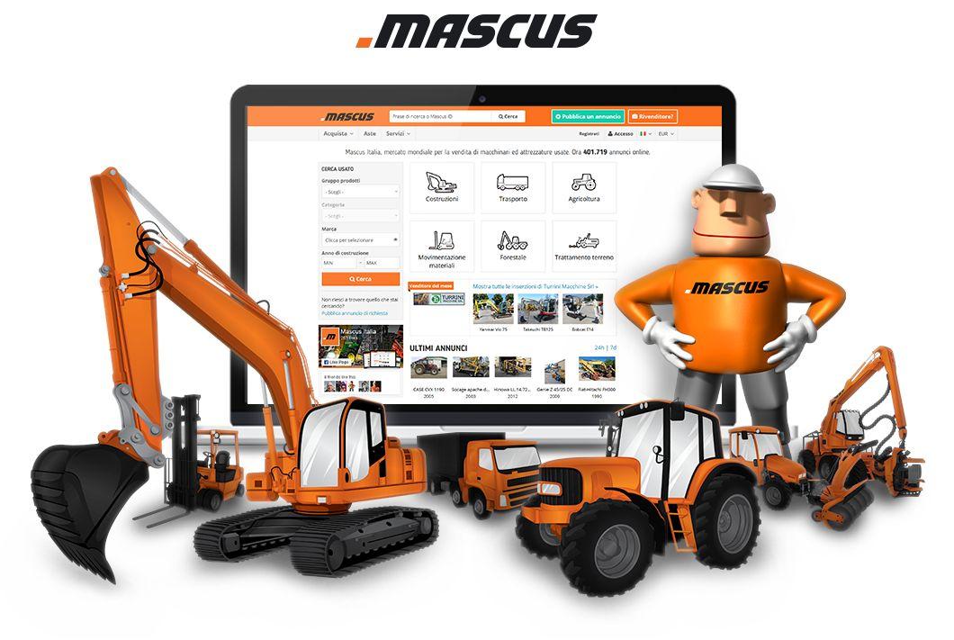 Mascus alla fiera GIS 209